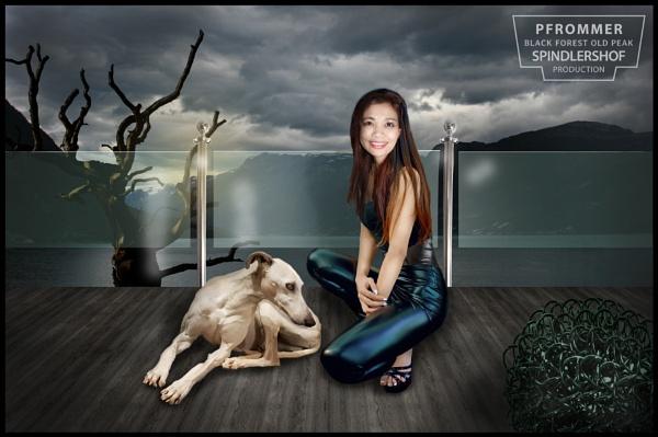 Jittirat Pfrommer & Doggie by yuaho