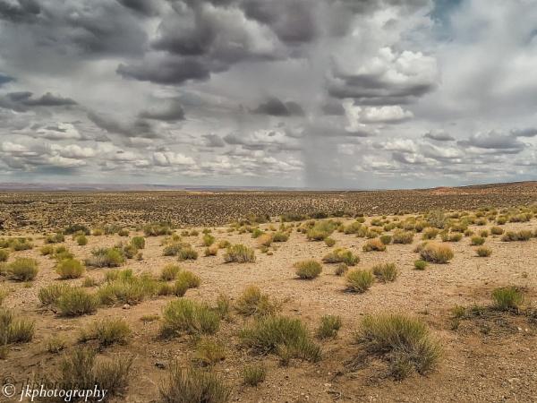 Scrubgrass and Sky  by john33991