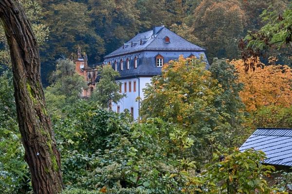 Eberbach Abbey in Autumn by LotaLota