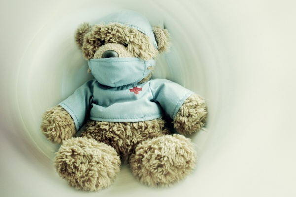 Intensive Care Teddy Bear Nurse by helenlinda