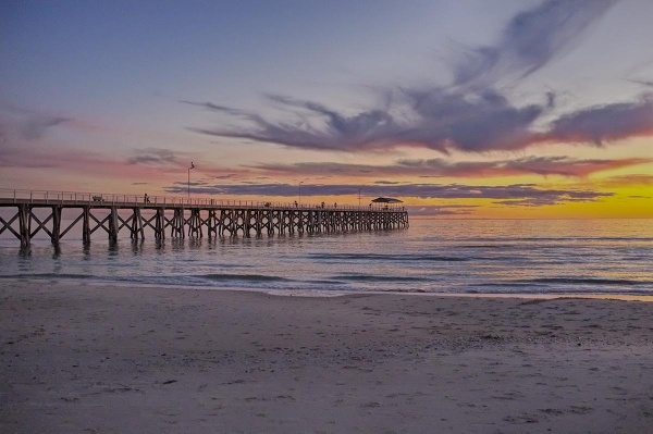 Winter Solstice Sunset- Grange jetty