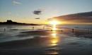 Bamburgh sunset by philhomer
