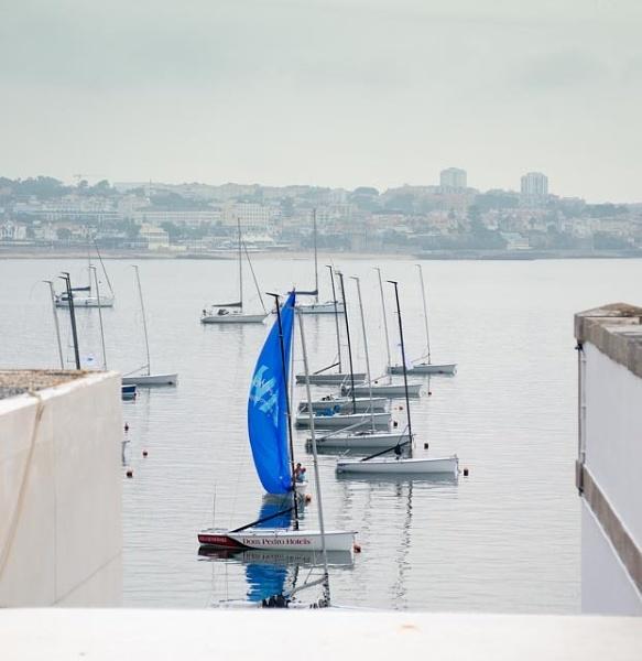 Blue sail by HarrietH