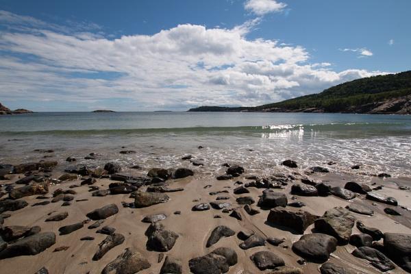 Sand Beach Acadia NP by Janetdinah