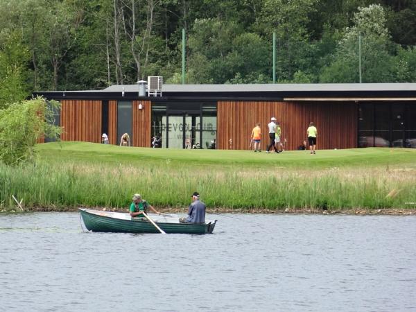 Amateur fishing. Amateur golf by SauliusR