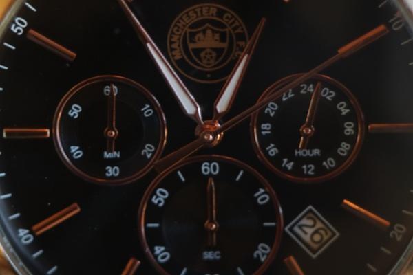 MCFC Time Piece by Sb_studio