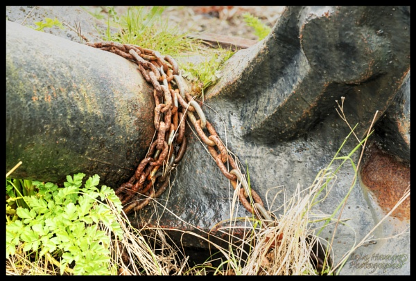 Rusty Anchor and Chain by IainHamer