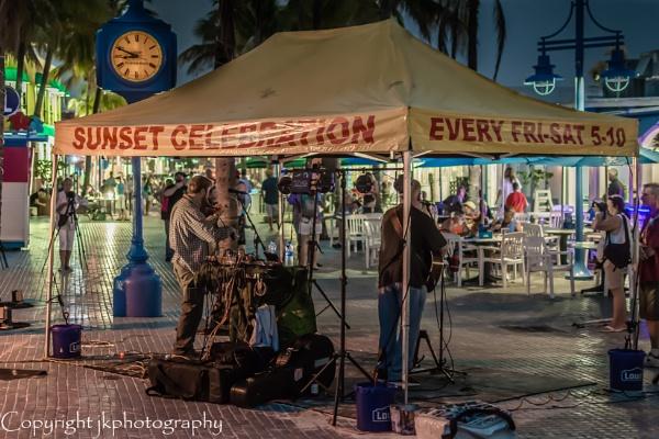 The Band Sunset Celebration  by john33991