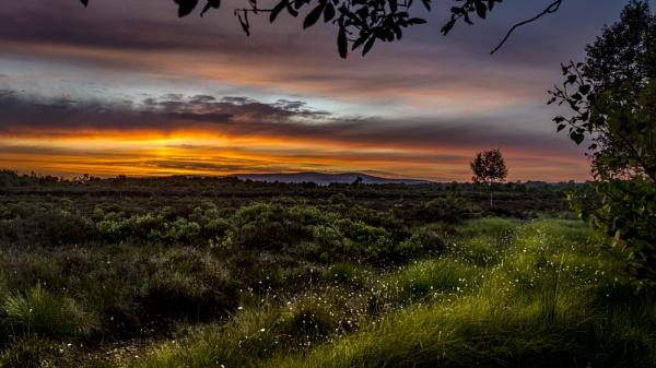 Drumduff sunset by zwarder