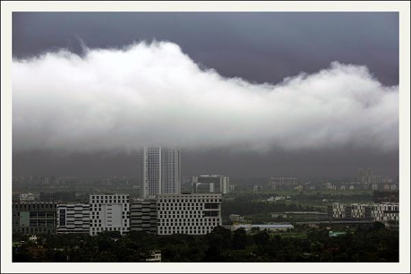 Looming Monsoon by prabhusinha