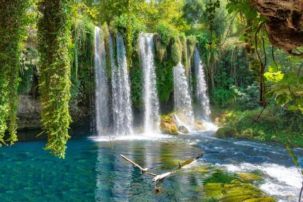 Turkey waterfall by probie