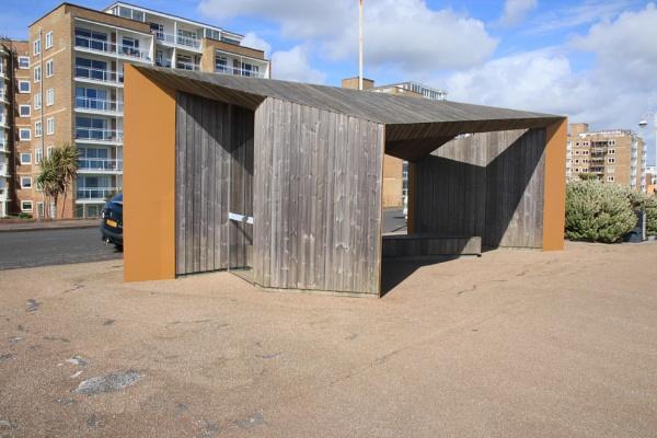 A Bexhill Beach Shelter