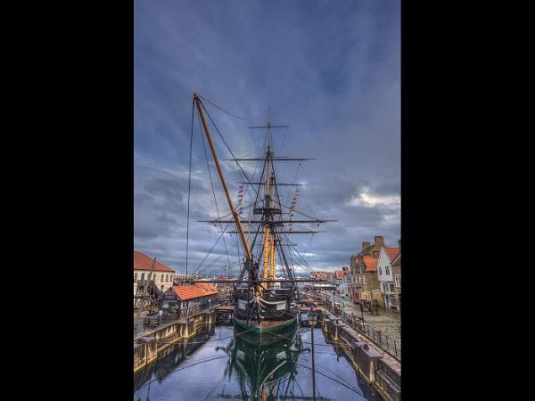 HMS Trincomalee by stevenb