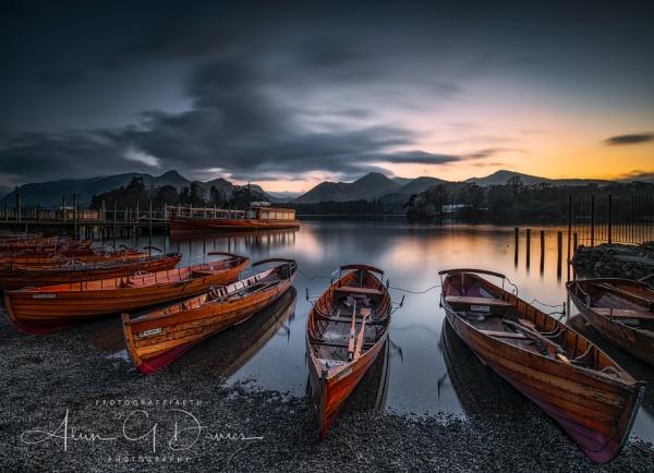 Derwent Water by Tynnwrlluniau