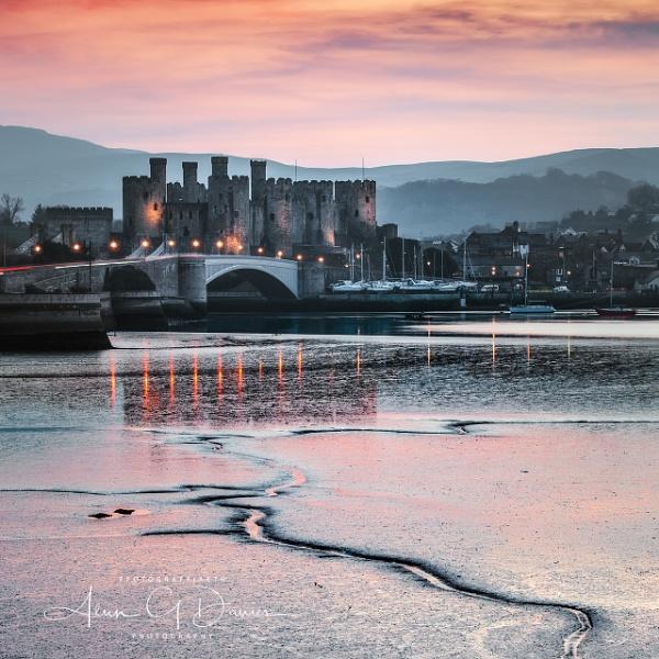 Castell Conwy by Tynnwrlluniau