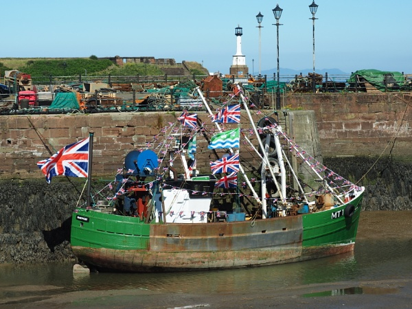 Maryport trawler by ANNDORASBOX