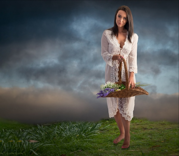 The Flower Picker by Scippy