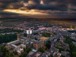 Cityscape of Durham