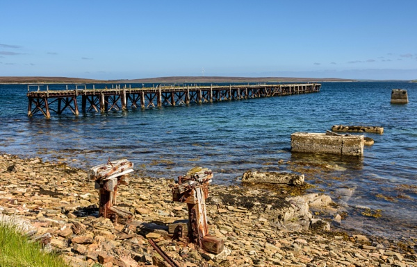 Disused jetty