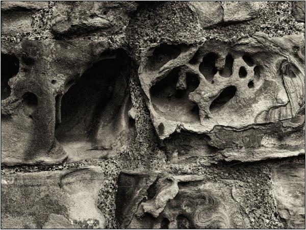 Sandstone Wall by woolybill1
