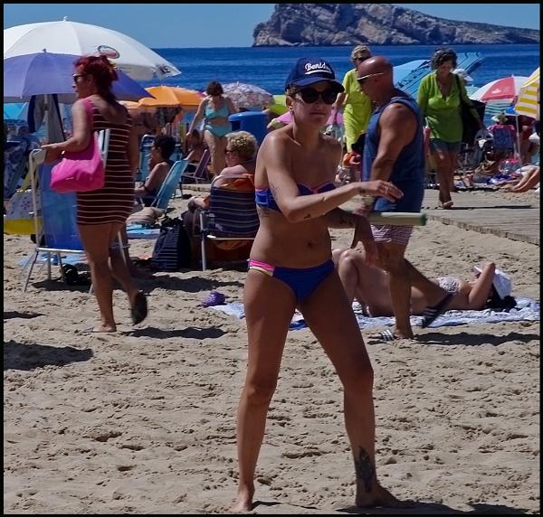Levante Beach Benidorm. by Badgerfred