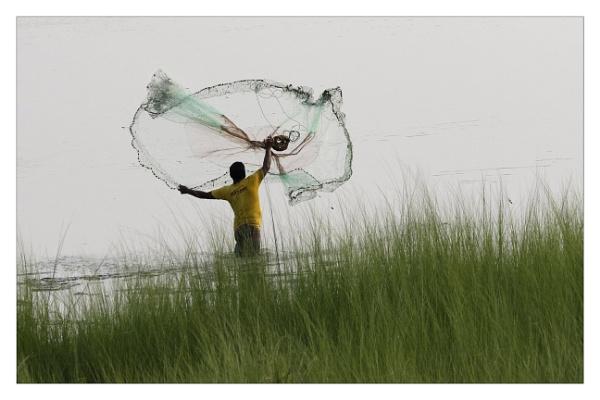 Fishing Net by prabhusinha