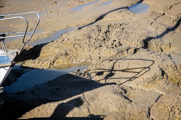 Malden mud shadows by rambler