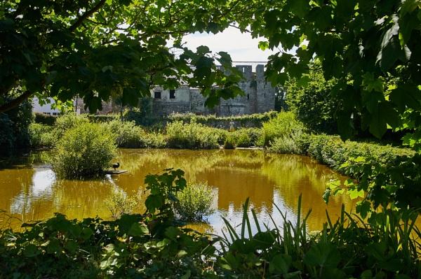 caldey island old priory by Meditator