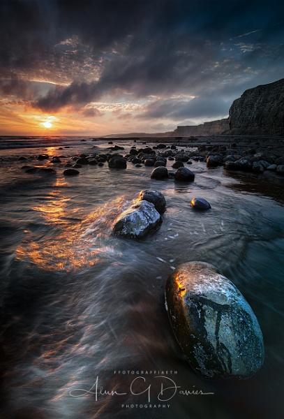 Traeth Mawr Sunset by Tynnwrlluniau