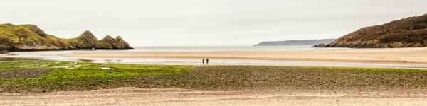 Three Cliffs Bay by Kilmas