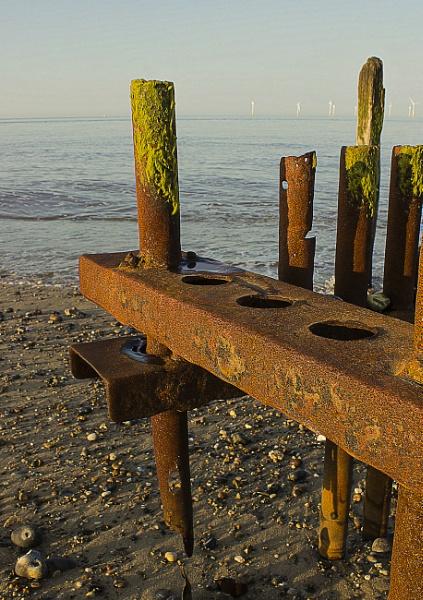 Beach Sand Groin by TelD