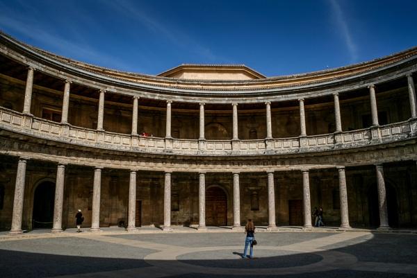 Alhambra Charles V palace - Granada by TornadoTys