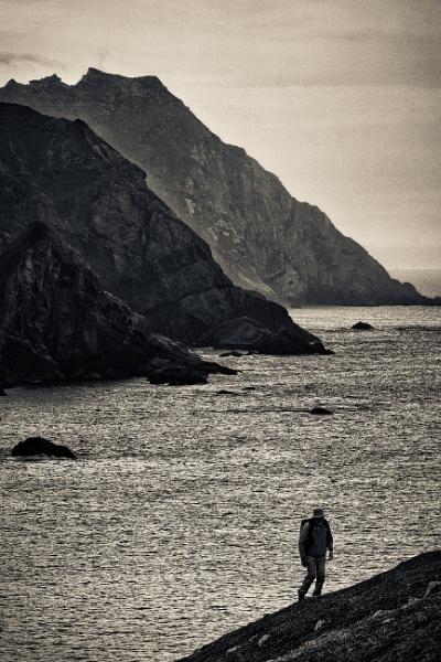 Above An Port, Donegal, Ireland by BobinAus