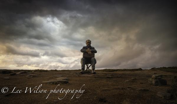 man on the moor