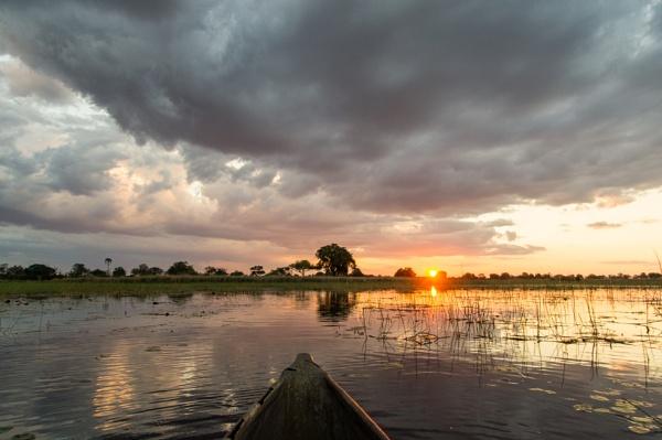 Okavango sunset by philstan