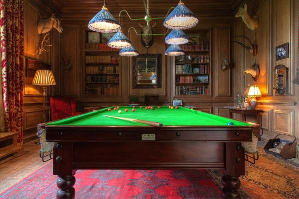 The Billiards Room, Avebury Manor, Wiltshire, England by traveller47