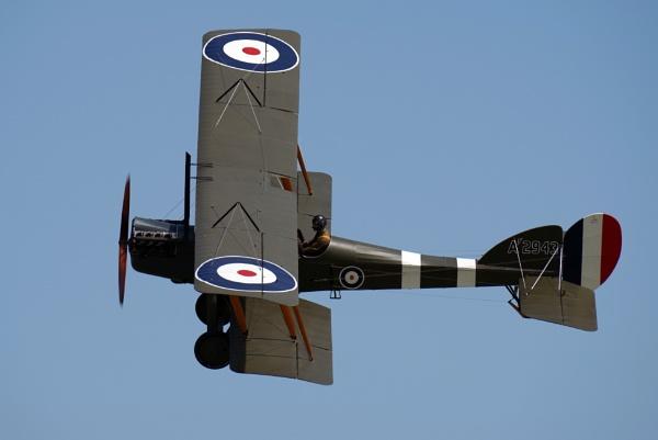 Royal Aircraft Factory BE2e by mungoray