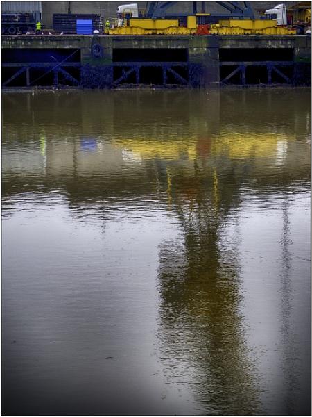 Dockside Crane by woolybill1