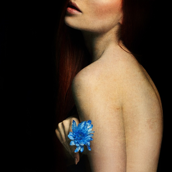 Blue Flower. by Scaramanga