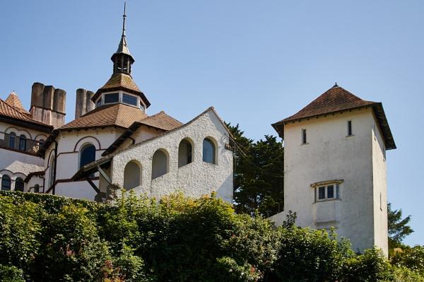 Caldey abbey by Meditator