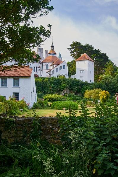 Caldey Island Monastery by Meditator