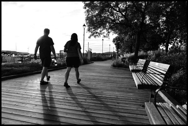 A summer evening\'s walk by djh698