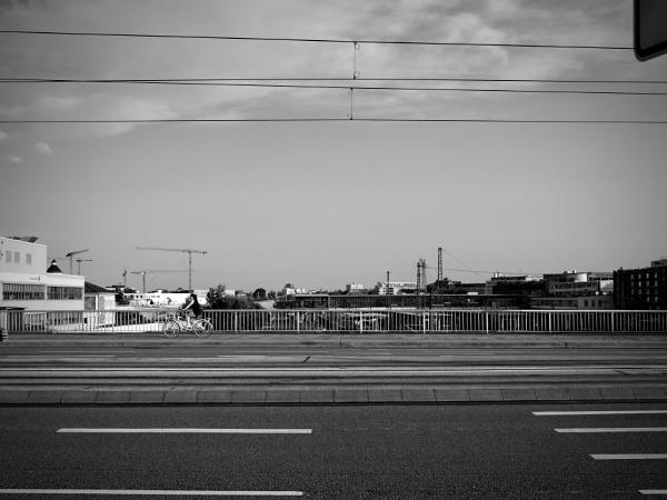 bicyclette sur le pont by matkaspa