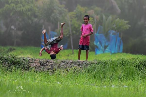 Childhood Fun by arnabc