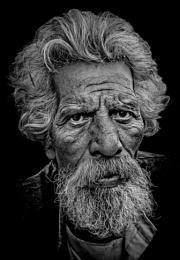 Old man of Rishikesh
