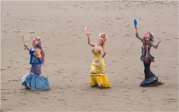 A trio of mermaids. by franken