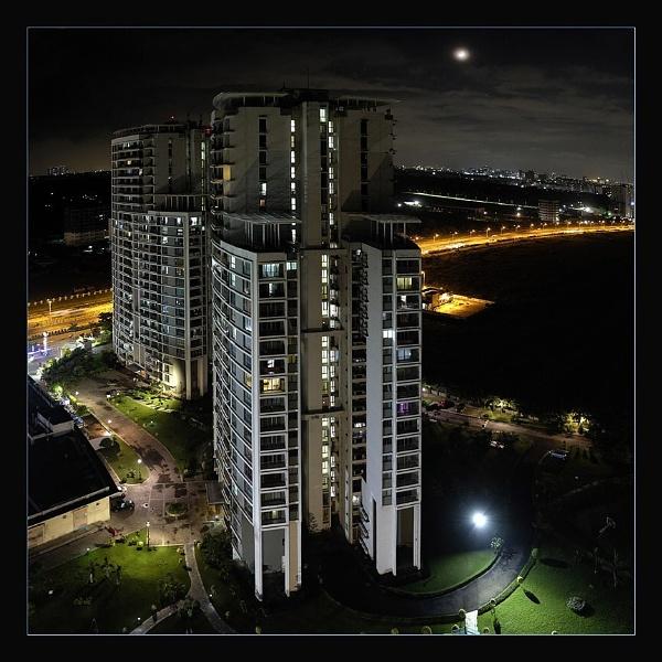 Night view by prabhusinha