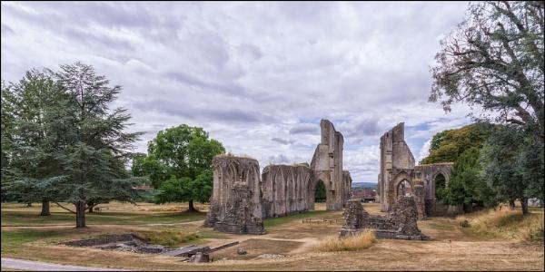 Glastonbury Abbey by Kilmas