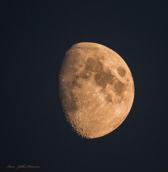 The Moon. by Jukka