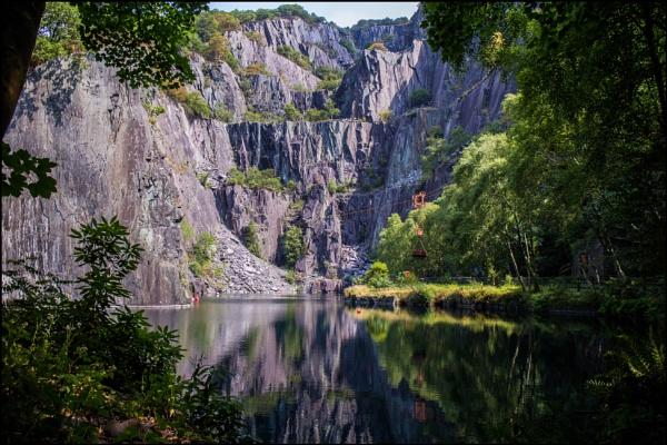 Slate Quarry by bwlchmawr